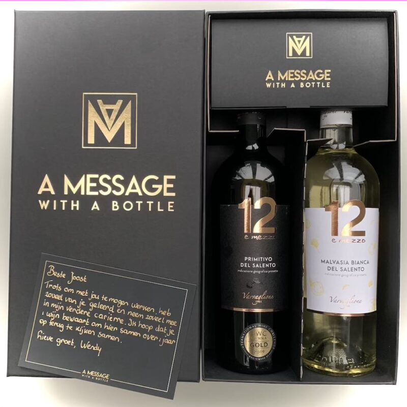 BOX 1 , A Message with a Bottle