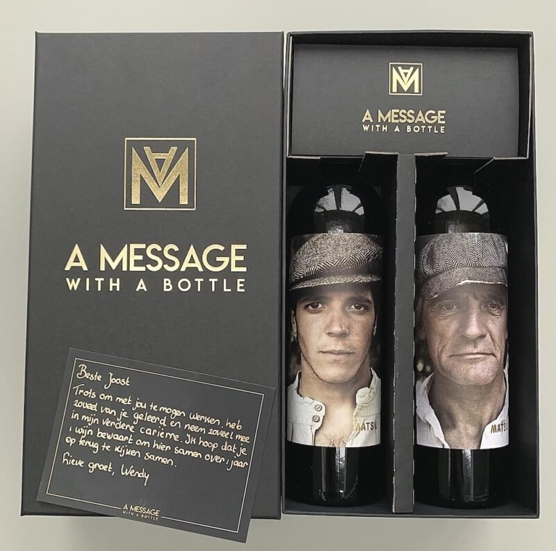 Box 2, A Message with a bottle